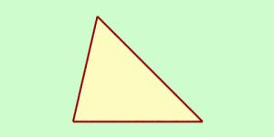 Keliling dan luas segitiga