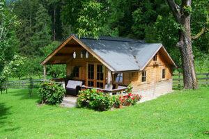 Lingkungan rumah yang asri